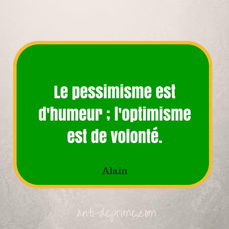 Le pessimisme est d'humeur ; l'optimisme