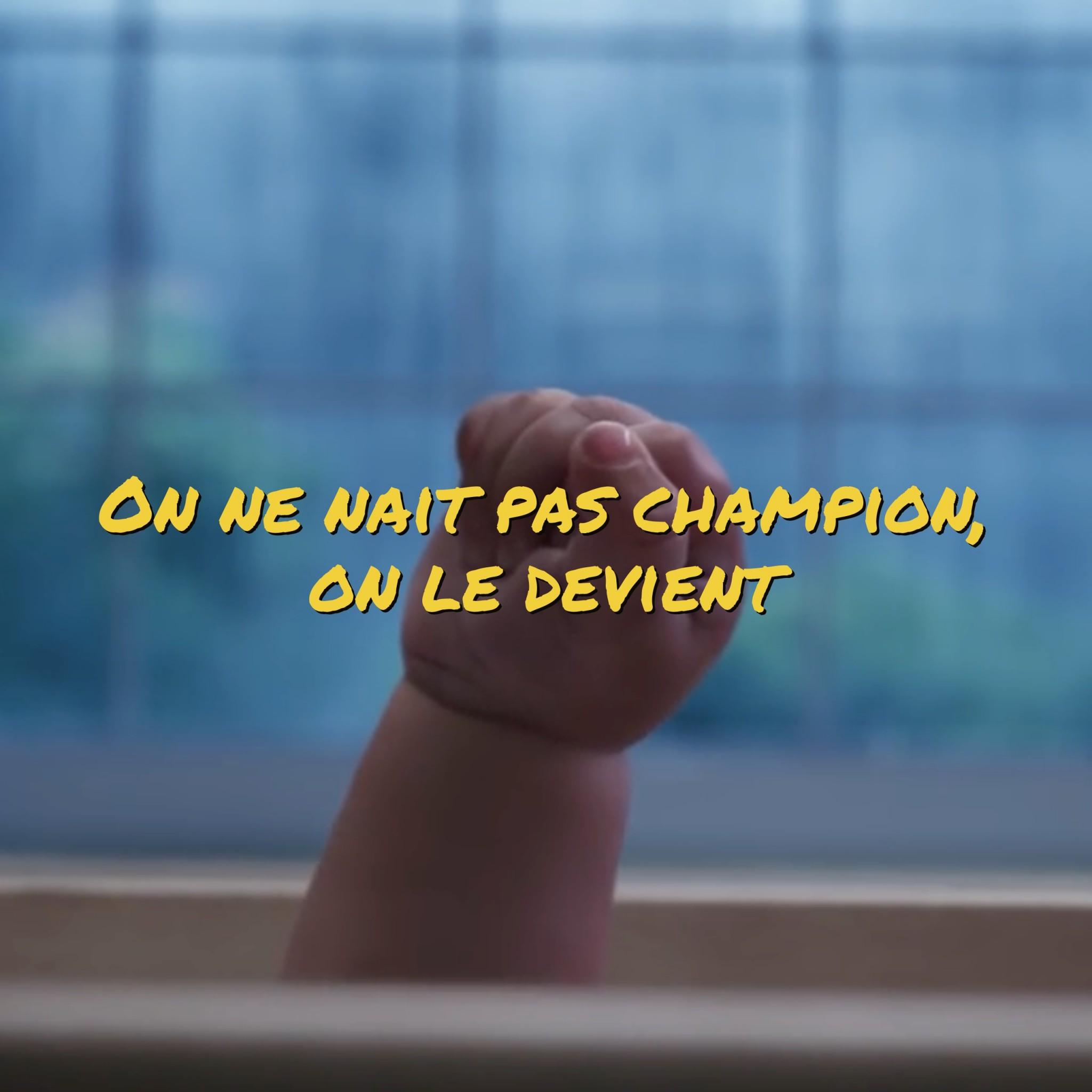 On ne nait pas champion, on le devient (vidéo)