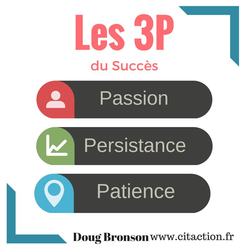 Les 3 P du succès