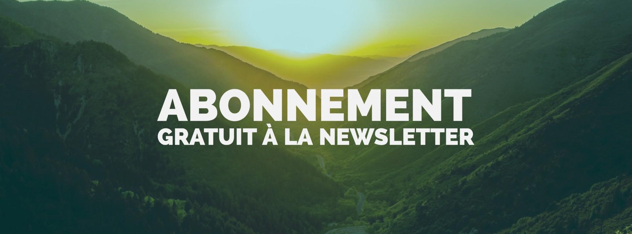 abonnement gratuit newsletter