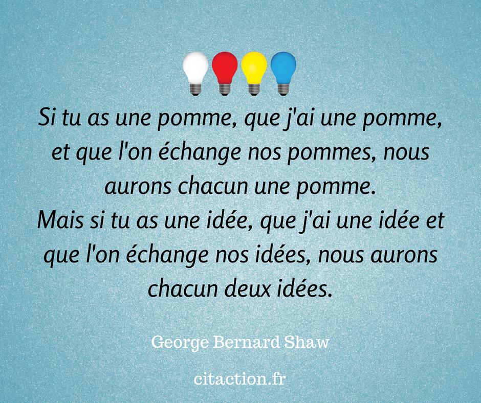 Partageons nos idées !