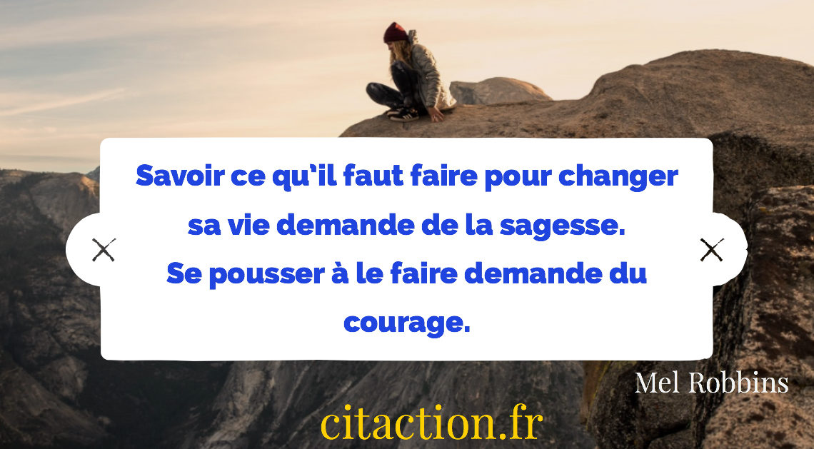 Sagesse et courage